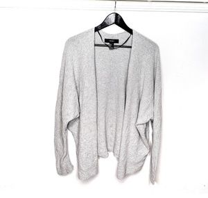 Forever 21 Over Sized Grey Cardigan